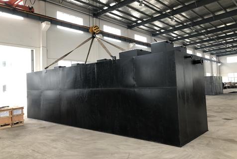北京300吨一体化污水处理设备