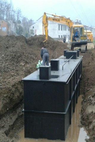 甘肃服务区污水处理设备