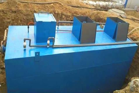 农村一体化污水废水处理设备污水厂改造