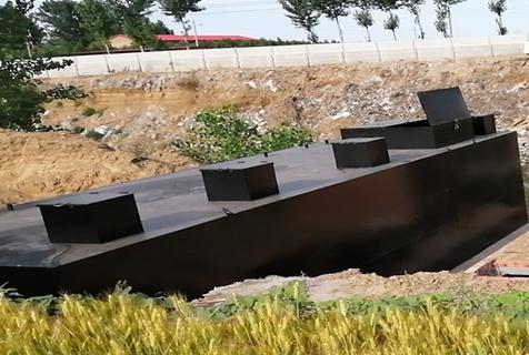 地下一体化污水处理设备方法