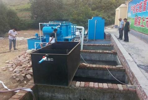 50吨一体化污水处理设备污水管网